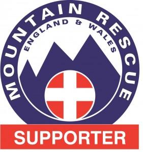 mountain rescue supporter logo